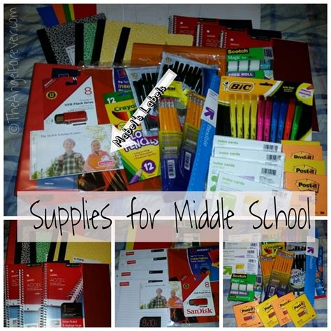 middle school supplies middle school supplies and mabel s labels the angel forever