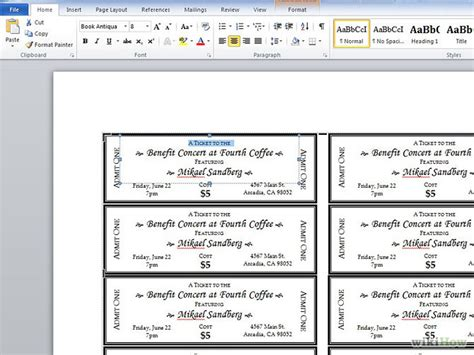 7 best images of create your own ticket templates event