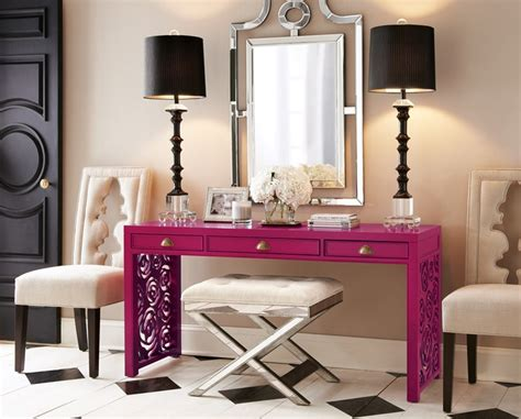 Black Entry Table Chic Entryways