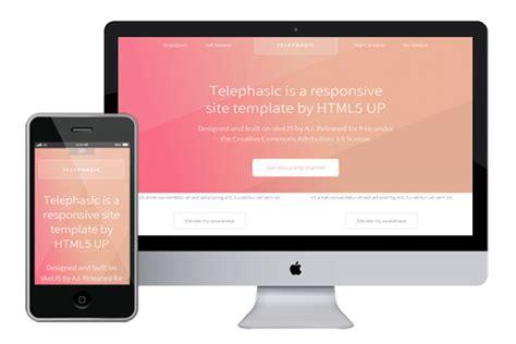 burnstudio responsive html5 template html5xcss3 telephasic responsive html5 template html5xcss3