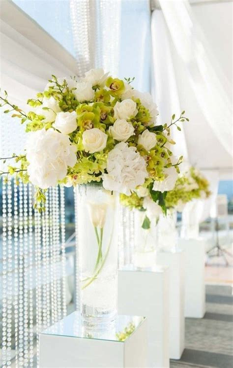 Flowers In Cylinder Vases by 315 Best Cylinder Vases Centerpieces Images On