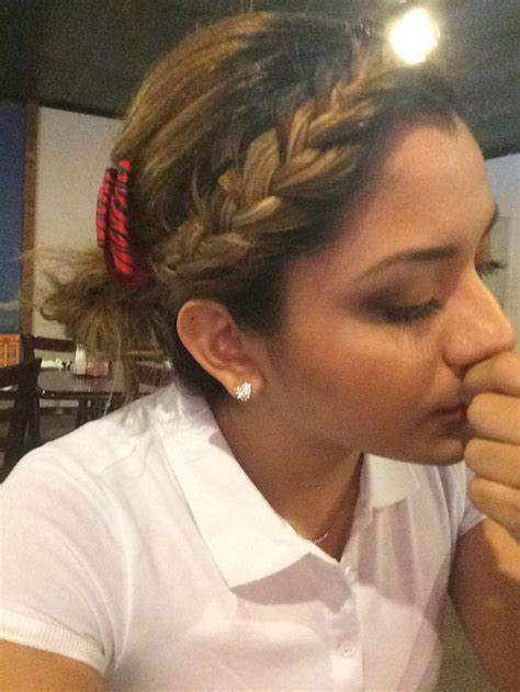 cute hairstyles for waitresses waitress hairstyles hair pinterest waitress