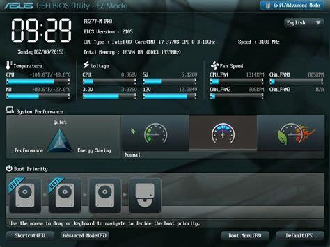 Asus Laptop Bios Uefi Boot asus boot menu key for windows 8 8 1 10