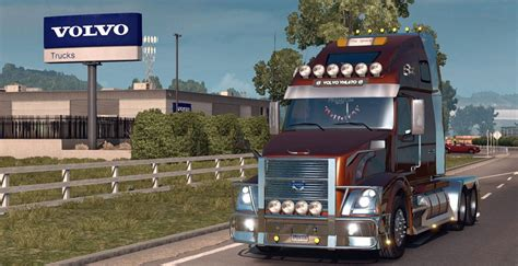 volvo vnl 670 truck v 1 3 by aradeth american truck