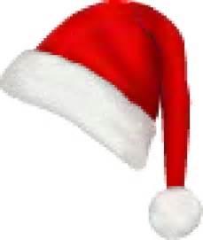 skinny right red santa hat free clip arts online fotor