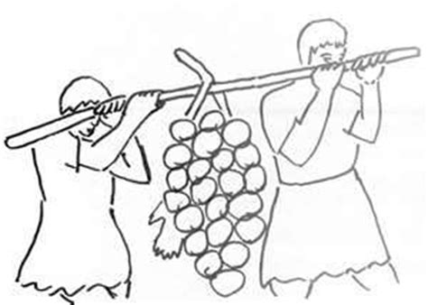 joshua 12 spies coloring pages coloring pages