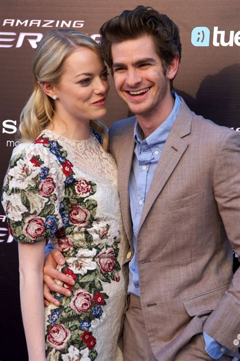 emma stone engaged back together emma stone andrew garfield talking about