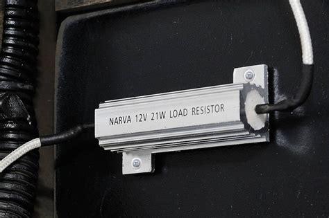 led load resistor purpose narva s new l e d load resistors overcome load sensitive flasher problems