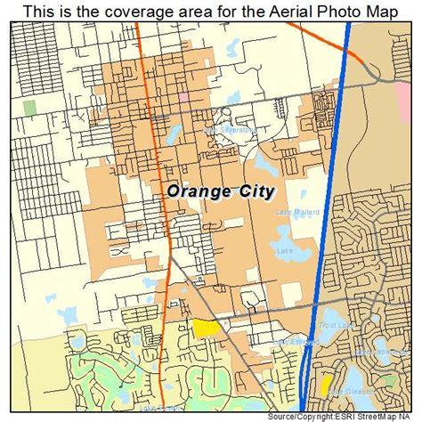 orange map aerial photography map of orange city fl florida
