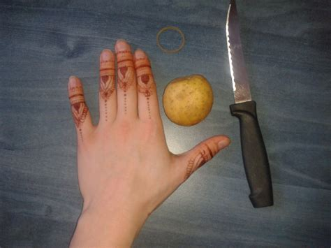 henna tattoo how to erase can you erase your henna stain with a potato artistic