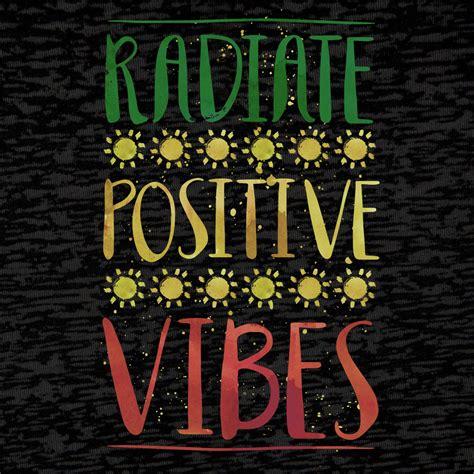 Jamaican Home Decor rastaempire radiate positive vibes hooded long sleeve