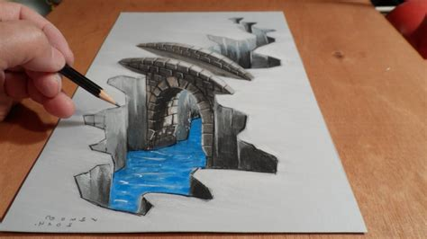 How To Make 3d Drawing On Paper - ideas of 3d drawing on paper drawing gallery