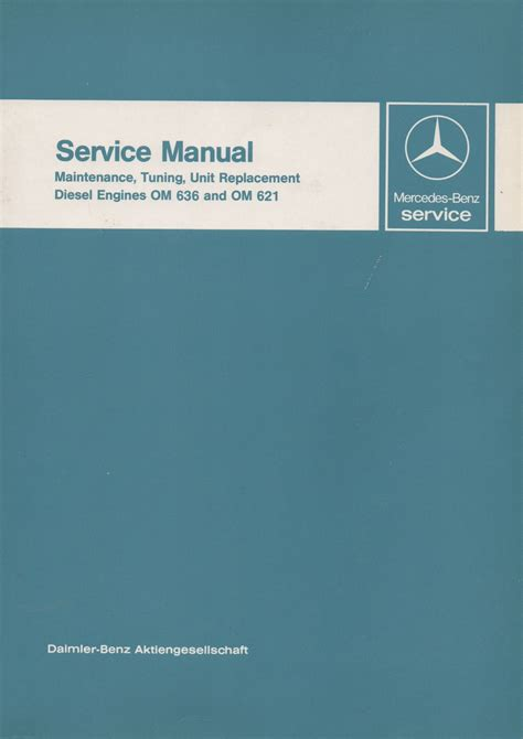 small engine service manuals 2011 mercedes benz m class seat position control mercedes benz diesel engines om 636 and om 621 service manual