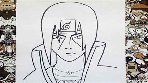 imagenes de itachi para dibujar a lapiz como dibujar a itachi youtube