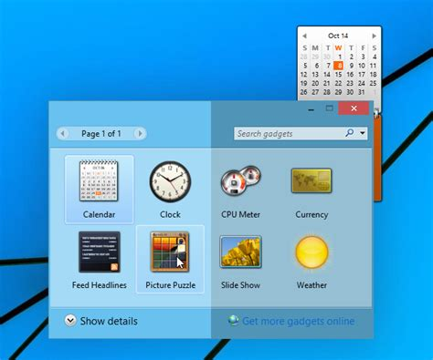 install windows 10 gadgets desktop gadgets and sidebar for windows 10