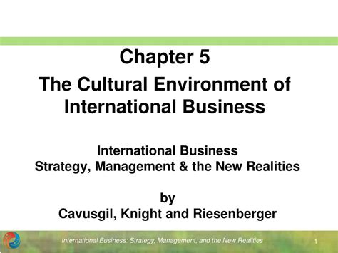 Business Policy And Strategic Management Ppt For Mba by Ppt International Business Strategy Management The