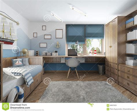 7 stylish bedrooms with lots of detail modern children s room for a teenager in a nautical style