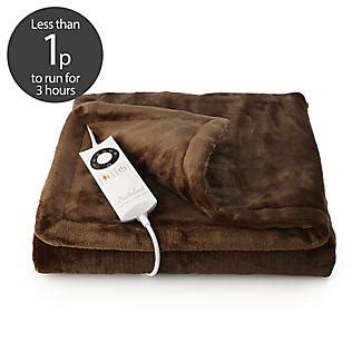 Heated Sofa Throw by Relaxwell Electric Heated Throw Snuggler Pockets Lakeland