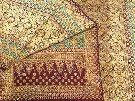 bunga tanjung pattern songket palembang wedding plans pinterest gold
