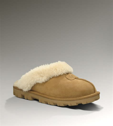 uggs slippers for ugg coquette chestnut slippers new style fashion