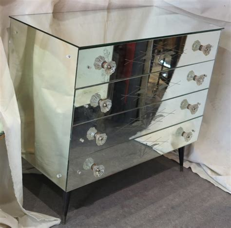 Commode Mirroir by Commode Miroir Sixties 4 Tiroirs