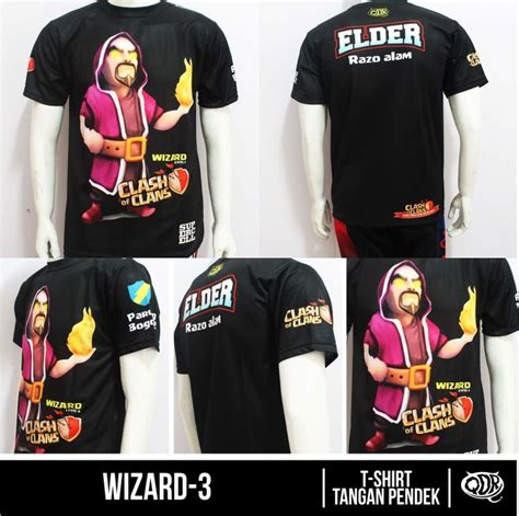 desain jersey warrior clash of clans jersey wizard 3 bahan dry fit polyester