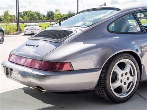 1990 porsche 911 blue 1990 porsche 911 carrera 4 coupe 88 478 miles diamant blue
