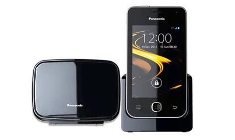 android home phone panasonic announces android ics powered kx prx120 cordless home phone