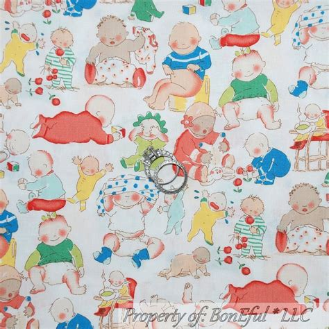 Baby Boy Quilt Fabric by Boneful Fabric Fq Cotton Quilt White Baby Boy Pink Blue Shower Nursery Dot Ebay