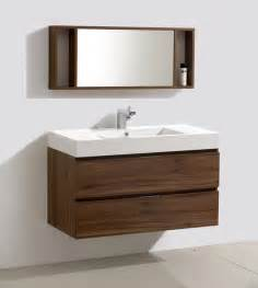 Vanity Modern 39 Inch Wall Mounted Modern Bathroom Vanity Mv317000c