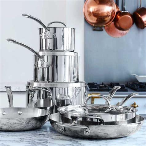 williams sonoma open kitchen stainless steel 10 piece