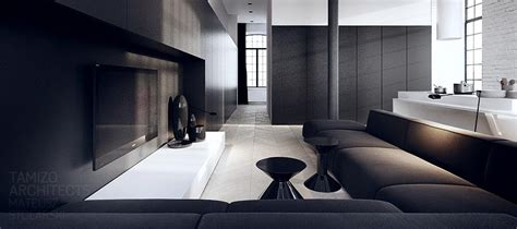 black and white interior interior design in black white