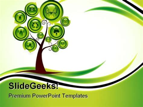 powerpoint templates free ecology ecology tree environment powerpoint templates and