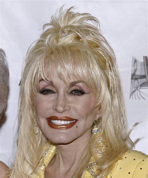 Dolly Parton Hairstyles by Dolly Parton Medium Alternative Half Up Hairstyle