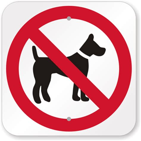 no dog symbol sign | ships fast & hassle free | made in