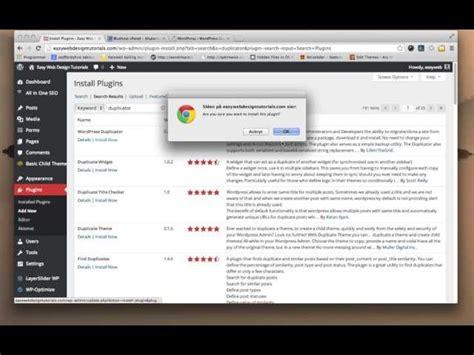 tutorial update wordpress duplicator wordpress plugin tutorial jan 2014 update