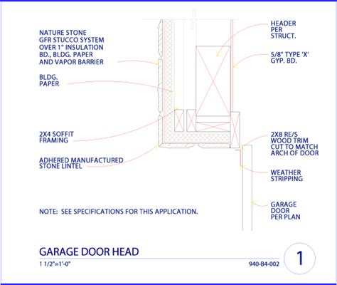 Overhead Door Jamb Detail Where I Can Buy High Quality Veneer For My Home