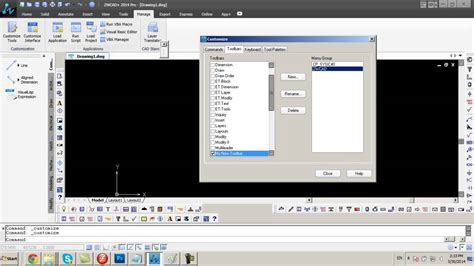 zwcad tutorial youtube zwcad create your own toolbar and add your commands the