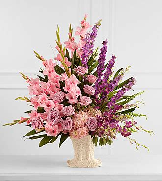Ftd Arrangements by The Ftd 174 Flowing Garden Arrangement