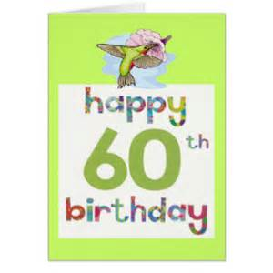 60th birthday free cards photo card templates