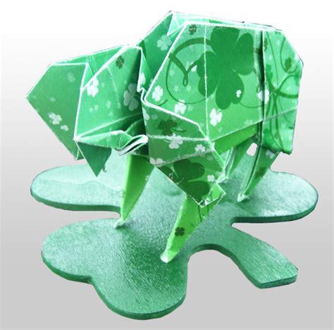 Origami Buffalo - origami buffalo