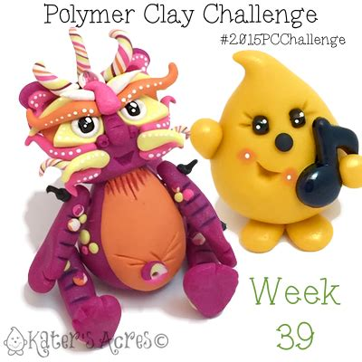 polymer clay challenge guide katersacres polymer clay challenge week 39 by katersacres