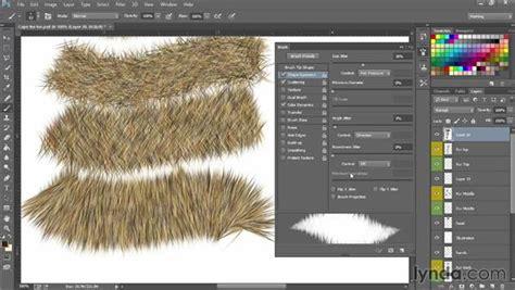 fur pattern brush making boa and fur brushes