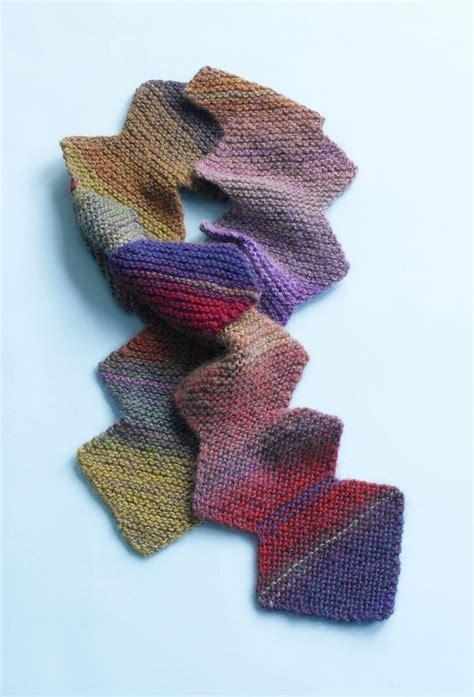 zig zag knitting pattern scarf brilliant zig zag scarf in lion brand amazing 90308ad