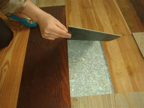 has your vinyl floor been damaged repairing is easy if