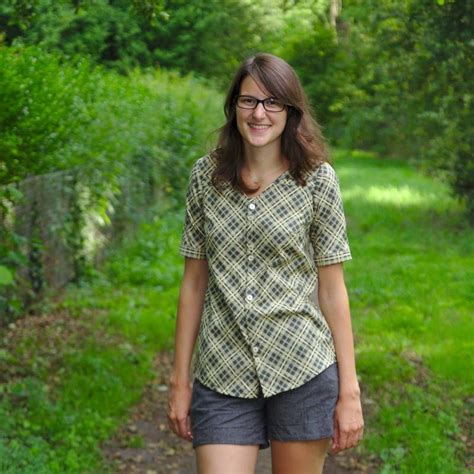 Aster Blouse by Aster Blouse By Froebelina Sew Tops