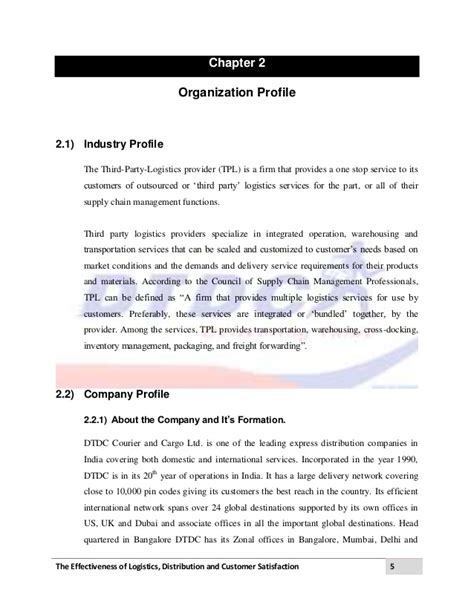courier service agreement template logistics and distribution project dtdc