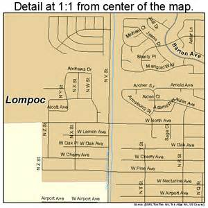 lompoc california map 0642524