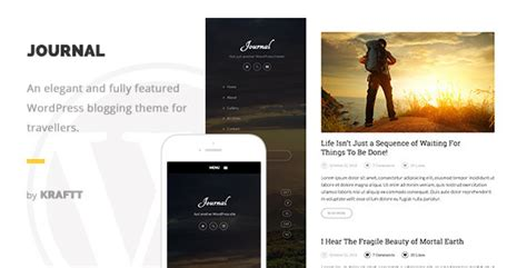wordpress blog themes journal plantillas wordpress journal elegant responsive
