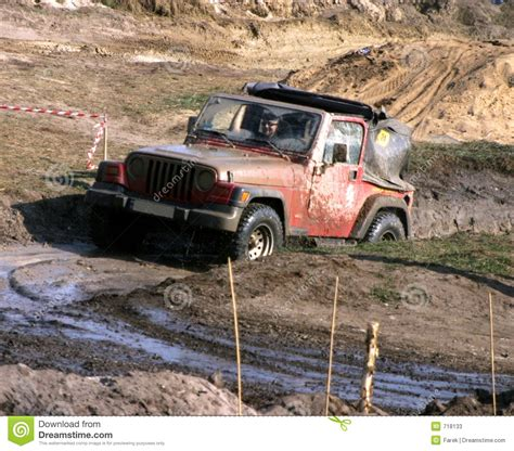 Jeeps In The Mud Jeep In The Mud Road Editorial Stock Photo Image 718133